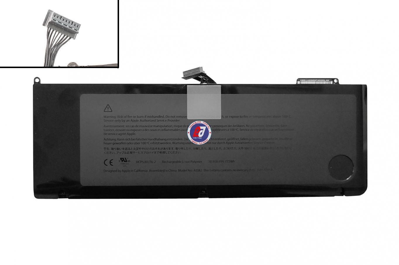 thay Pin macbook A1382 pro unibody 15inch A1286