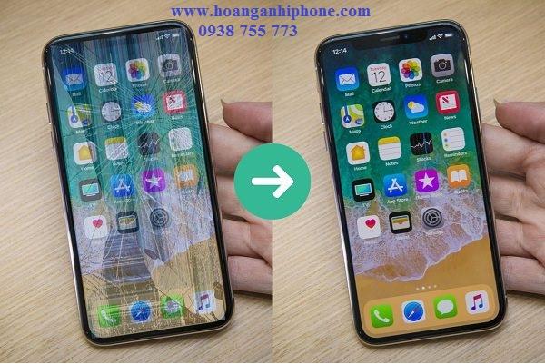 thay man hinh iPhone X